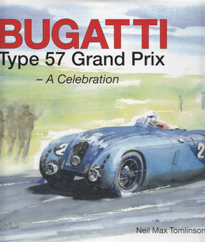 Bugatti Type 57 Grand Prix - A Celebration - front