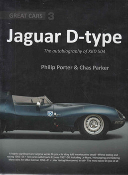 Jaguar D-Type The autobiography of XKD 504 Great Cars 3 - back