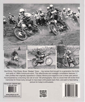 Off-Road Giants! Heroes of 1960s Motorcycle Sport - Softbound Reprint  - back