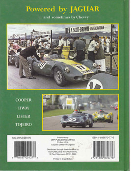 Powered by Jaguar: The Cooper, HWM, Lister & Tojero sports-racing cars - back