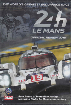 Le Mans 2015 The Official Review DVD  - front