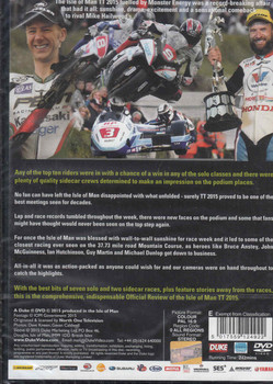 TT Isle Of Man 2015 Official Review DVD - back