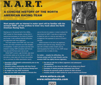 N.A.R.T. A Concise history of the North American Racing Team 1957 to 1983  - back