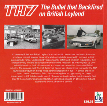 TR7: The Bullet that Backfired on British Leyland - back