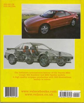 Toyota MR2 Coupes & Spyders - back