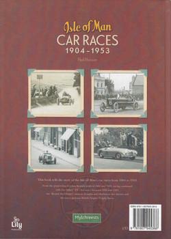 Isle of Man Car Races 1904-1953 - back