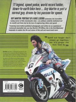 Guy Martin: Portrait Of A Bike Legend - back