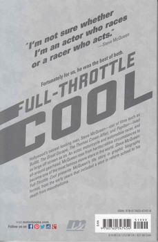 Steve McQueen: Full Throttle Cool - Graphic Biography - back
