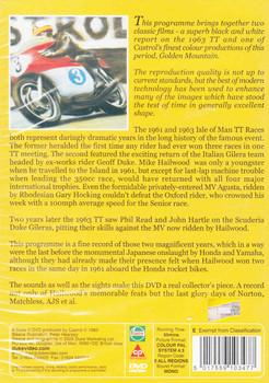 Golden Mountain: 1961 TT Races also featuring 1963 TT Races DVD