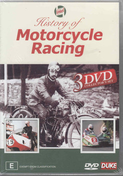 History of Motorcycle Racing 3 DVD Set - front