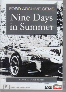 Nine Days in Summer: Ford Archive Gems - front