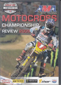 AMA Pro Racing Motocross Championship Review 2009 2-DVD Set - front