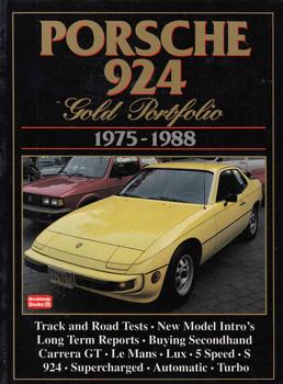 Porsche 924 Gold Portfolio 1975-1988 - front