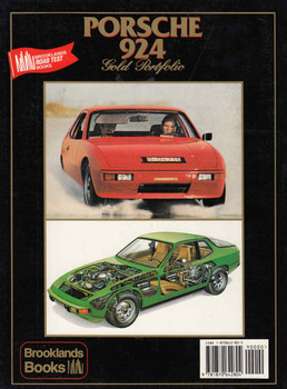 Porsche 924 Gold Portfolio 1975-1988 - back