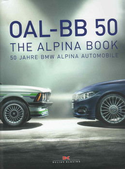 OAL-BB 50: The Alpina Book 50 Jarre BMW Alpina Automobile  - front