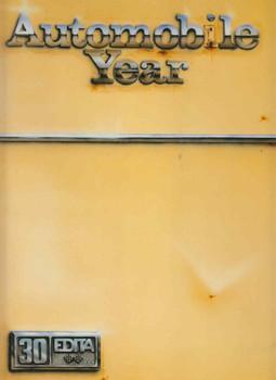 Automobile Year 1982 - 1983 (No. 30) (9782880011413)