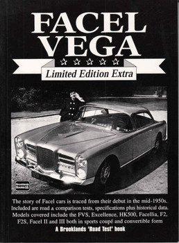 Facel Vega Limited Edition Extra Road Tests - front