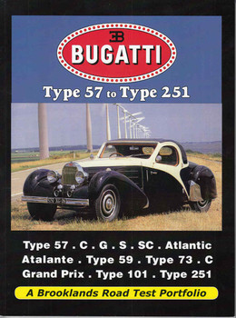 Bugatti Type 57 to Type 251 A Brooklands Road Test Portfolio - front