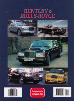 Bentley & Rolls-Royce 1990-2002 A Brooklands Portfolio Hardbound Limited Edition - back