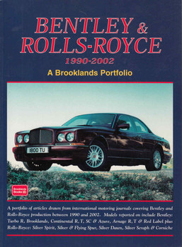 Bentley & Rolls-Royce 1990-2002 A Brooklands Portfolio Hardbound Limited Edition - front