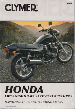 Honda CB750 Nighthawk 1991-1993 & 1995-1999 Repair Manual - front