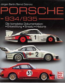 Porsche - 934 / 935 Die komplette Dokumentation: Entwicklung - Einsatz - Historie (German Text) - front