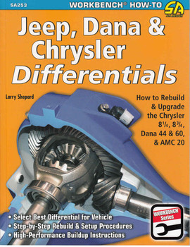 Jeep, Dana & Chrysler Differentials (9781613250495)