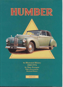 Humber An Illustrated History 1868-1976 - Reprint  - front