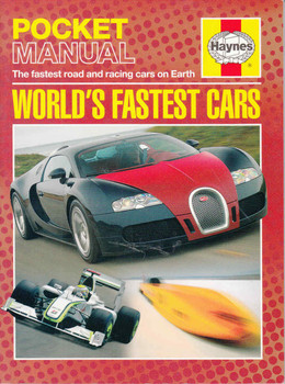 Haynes Pocket Manual: World's Fastest Cars - front
