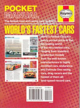 Haynes Pocket Manual: World's Fastest Cars - back