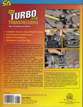 GM Turbo 350 Transmissions: How to Rebuild & Modify Back