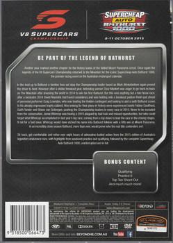 Bathurst 2015 Complete Race DVD - bck