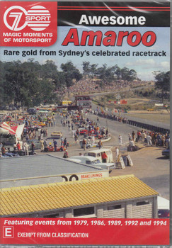 Magic Moments Of Motorsport : Awesome Amaroo DVD - front
