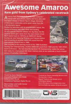 Magic Moments Of Motorsport : Awesome Amaroo DVD - back