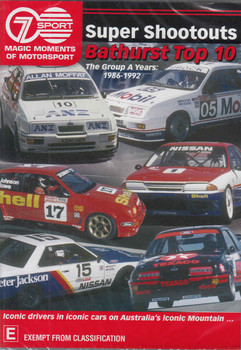 Magic Moments Of Motorsport: Super Shootouts Bathurst Top 10 DVD - front