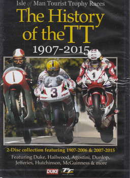 The History of the TT 1907-2015 2 DVD Set - front