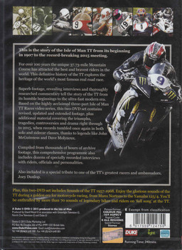 The History of the TT 1907-2015 2 DVD Set - back