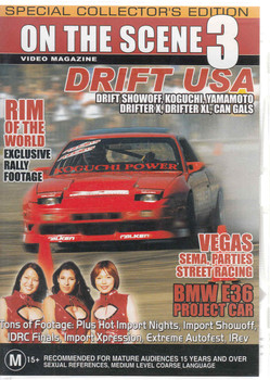 On The Scene 3: Drift USA DVD
