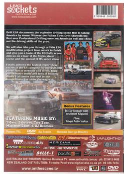 On The Scene 3: Drift USA DVD Back