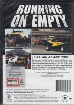 Running On Empty Australian Cult Film DVD Back