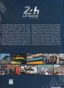Le Mans 24 Hours 2015 Yearbook  - back