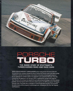 Porsche Turbo: The Inside Story Of Stuttgart's Turbocharged Road And Race Cars  - back