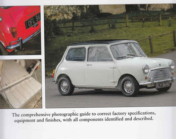 Factory-Original Mini Mk I & Mk II: Originality guide including Cooper, Moke, Hornet, Elf, Van Pick-Up & Estate  - back