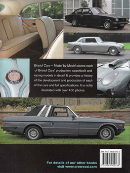 Bristol Cars: Model By Model - back