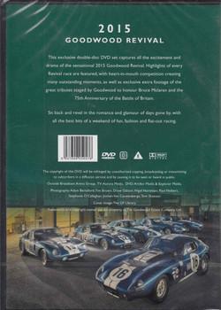 Goodwood Revival 2015 DVD Back