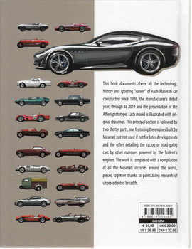 Maserati All the Cars Back Cover