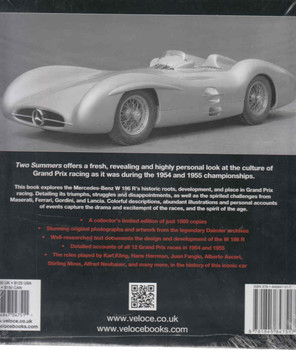 Two Summers – The Mercedes-Benz W196R Racing Car Back Cover