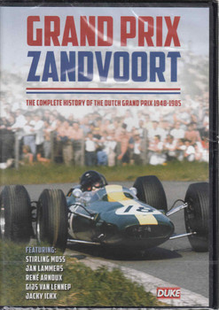 Grand Prix Zandvoort: The Complete History Of The Dutch Grand Prix 1948 - 1985 DVD
