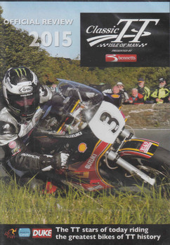 Classic TT Isle Of Man Official Review 2015 DVD - front