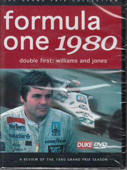 Formula One 1980 - Double First: Williams and Jones DVD
